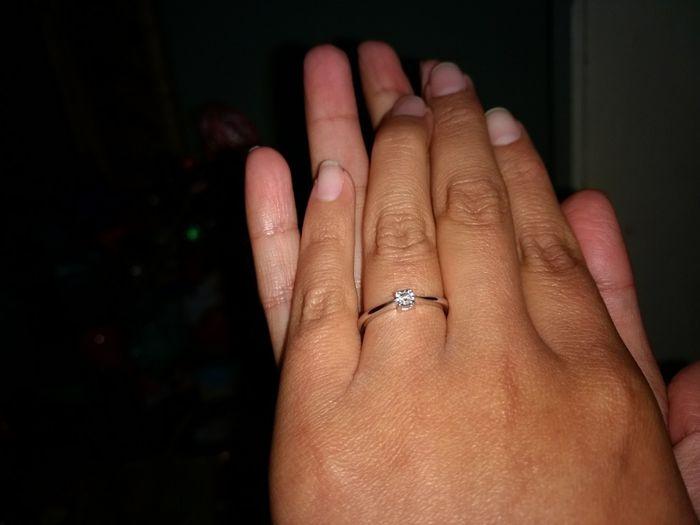 Cómo es la piedra de su anillo? 💎 - 1