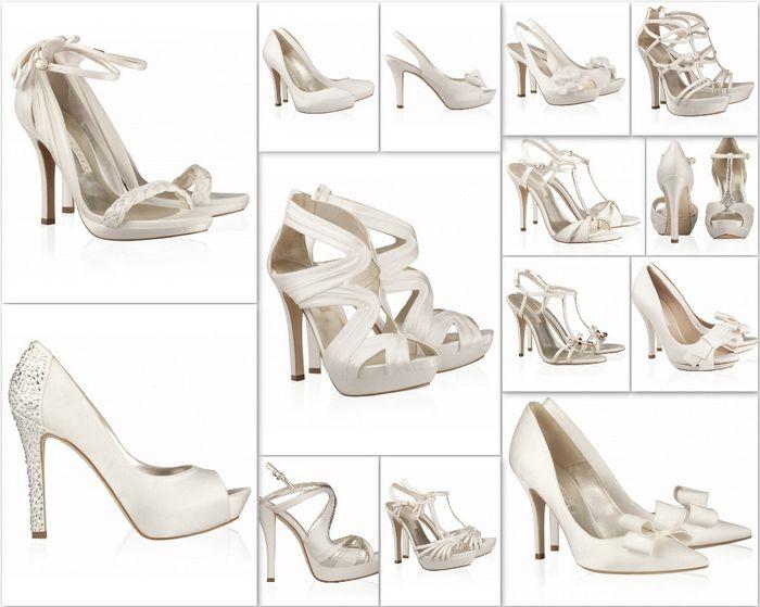 zapatos de novia - foro moda nupcial - bodas.mx