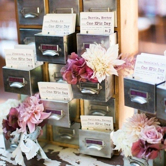 Ideas originales para el seating de tu boda foro organizar una boda - Bodas originales ideas ...