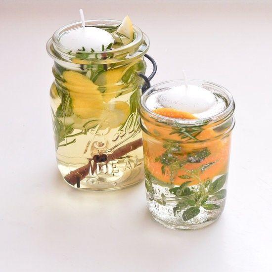 Aromatizador con velas para ahuyentar insectos - Foro
