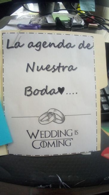 Agenda para organizar la boda ♥ (do It Yourself). 1