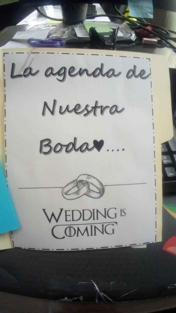 Agenda para organizar la boda ♥ (do It Yourself). 1