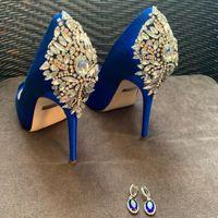 Zapatos y aretes!!! Los tengo!!!! 💙 - 1