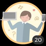 Genio (20). Te encanta curiosear todos los artículos y empaparte con nuestras ideas y consejos. Ya comentaste en 20 artículos, así que te ganaste a pulso esta medalla.