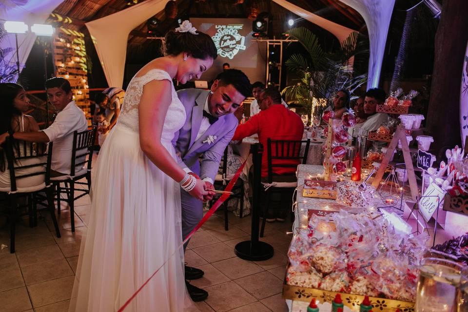Apertura de candy -Bar Wedding