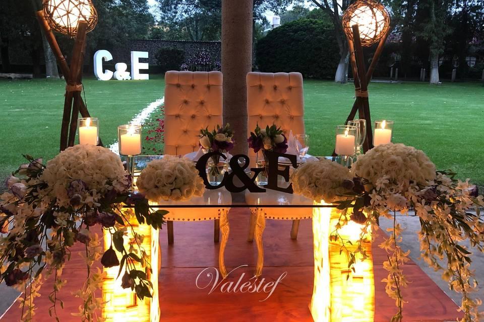 Valéstef elegancia en bodas