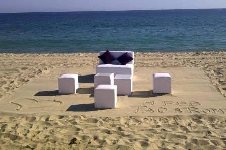Montaje playa