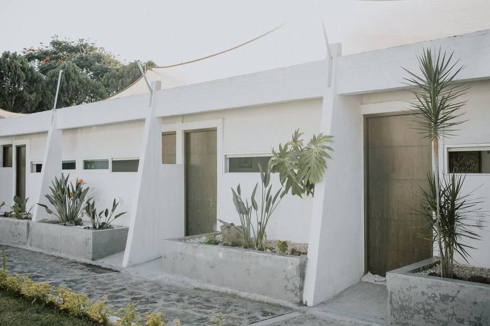 Exterior habitaciones