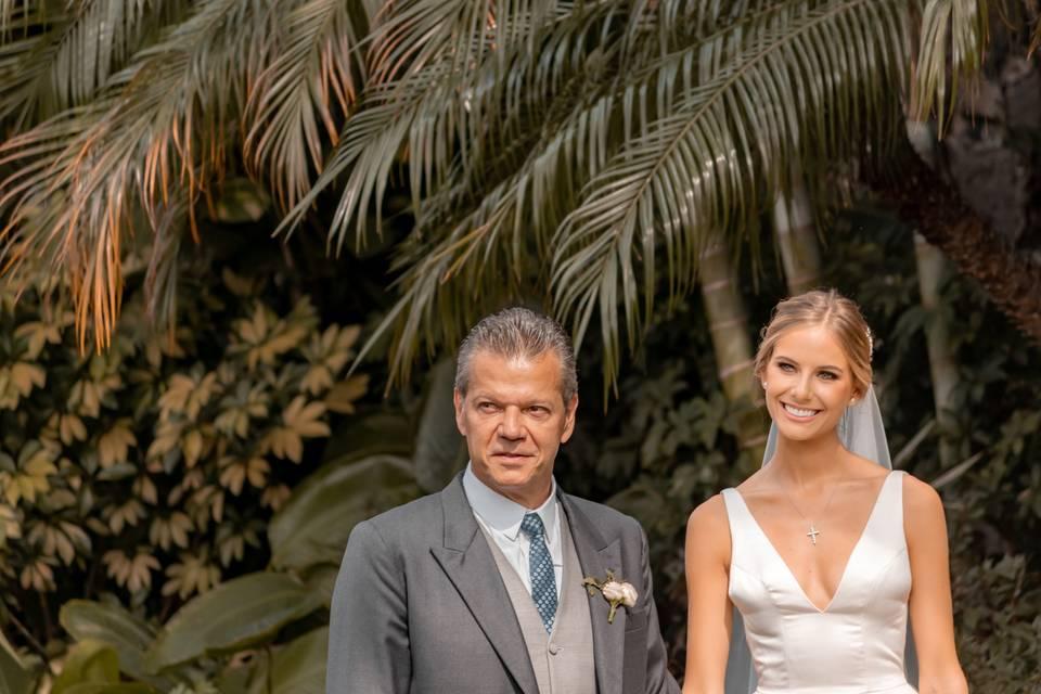 El padre y la novia
