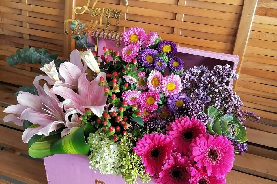 Hermoso diseño floral
