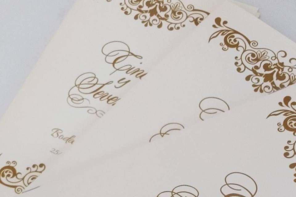 Misales para boda