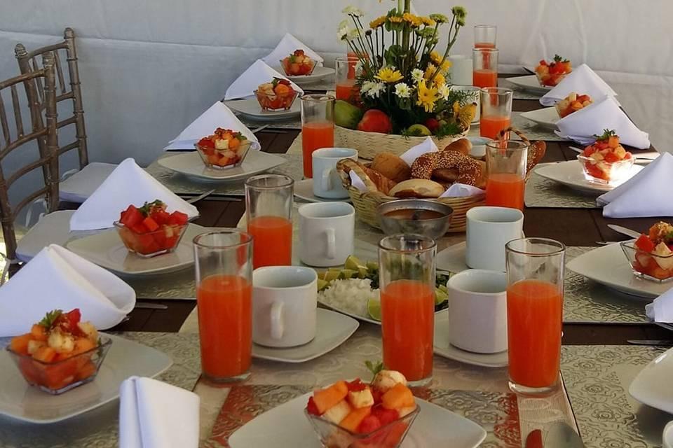 Catering Eventos Oaxaca
