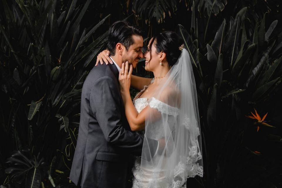 Sesión durante la boda