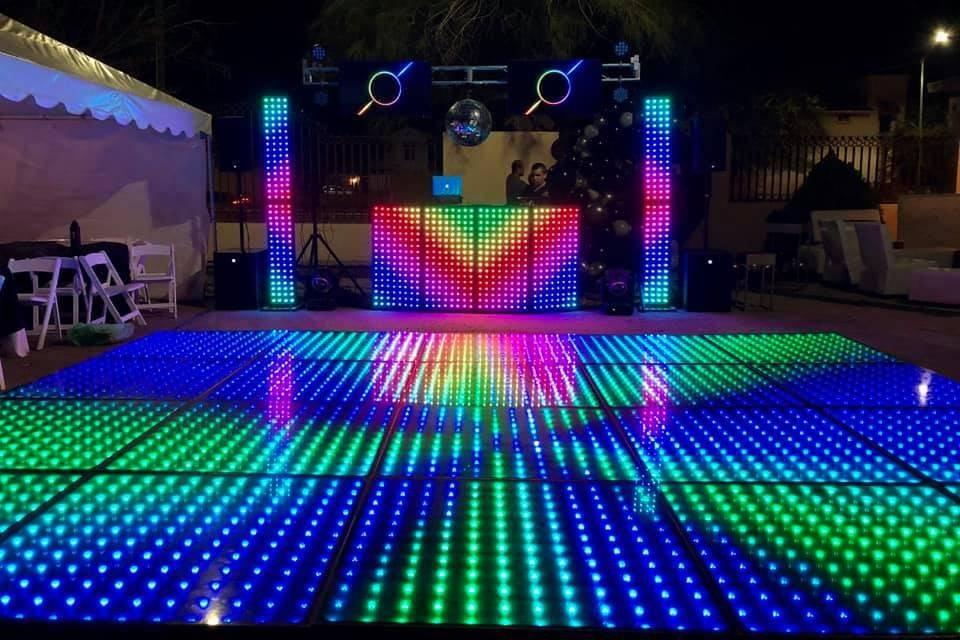 Audio e Iluminación MJ