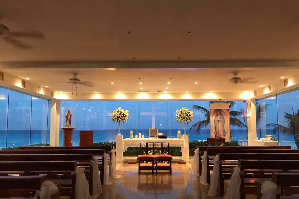 Ceremonia capilla católica