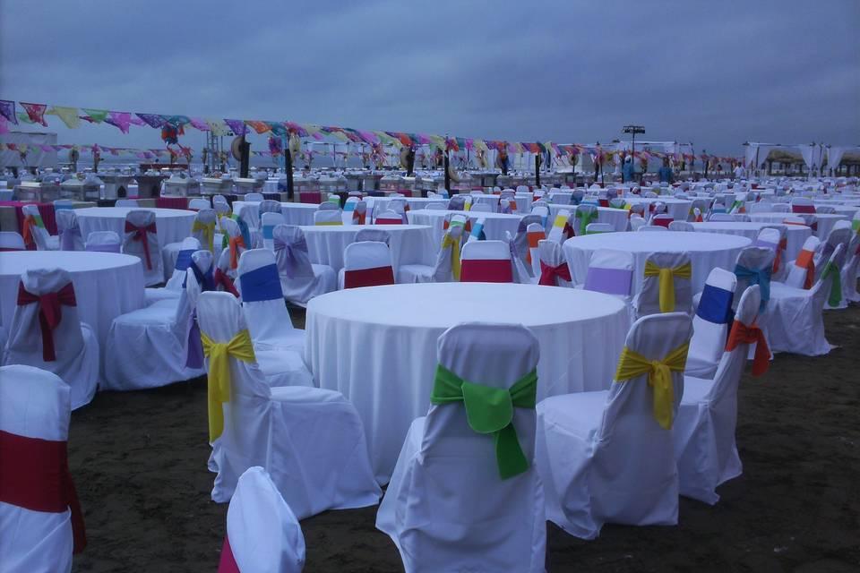 Evento tipo buffet