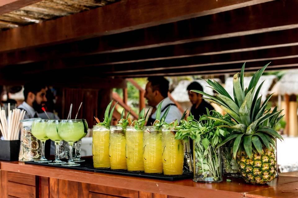 Tahiti Mixology Bar Móvil