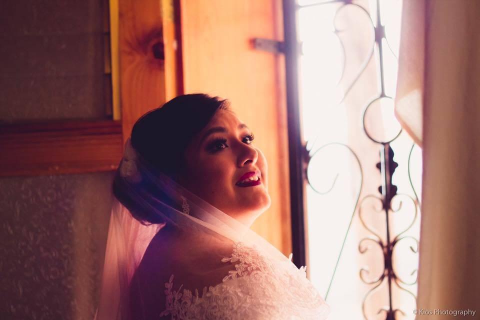 Sesión de fotos para la novia