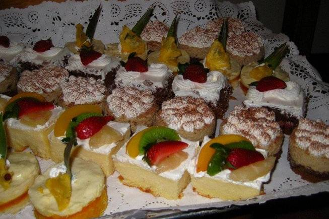 Canapes dulces