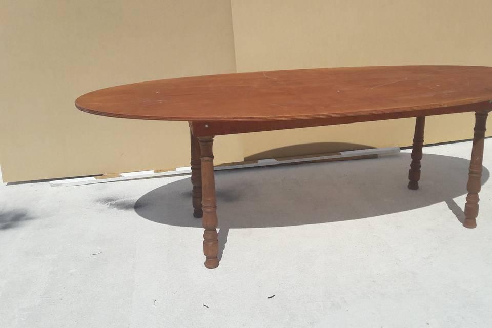 Mesa ovalada 10 personas