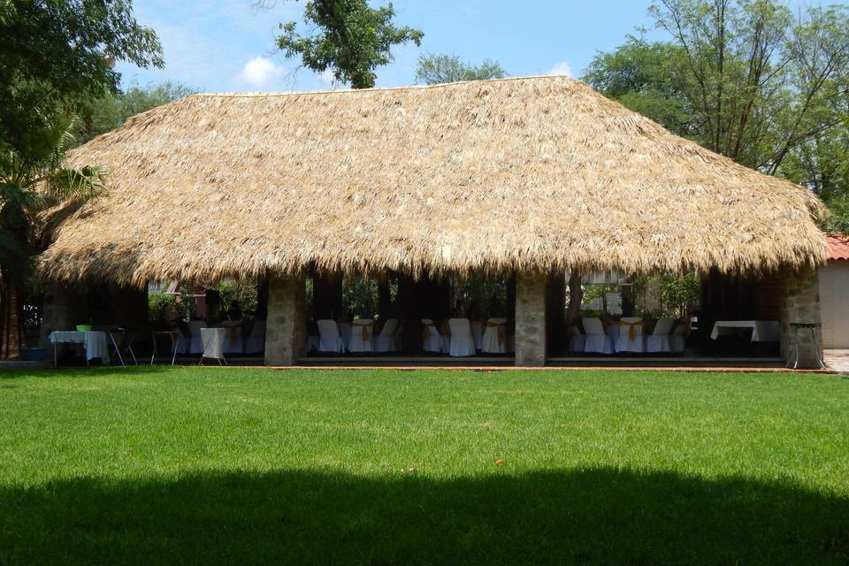 Jardín campestre san francisco