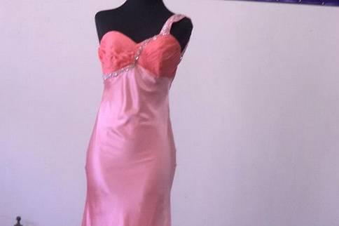 Alta costura en rosa