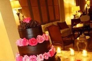 Arreglos para el pastel