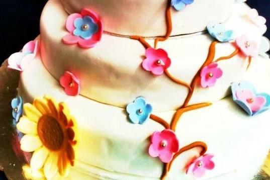 Flores y girasoles