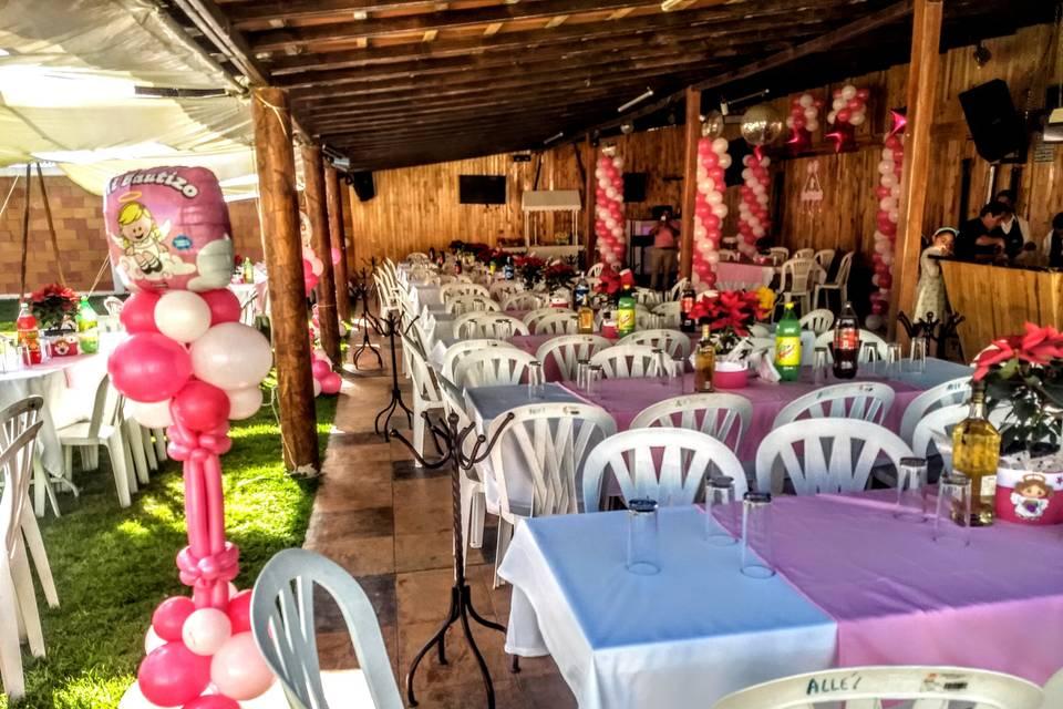Jardín para Fiestas y Eventos Allé