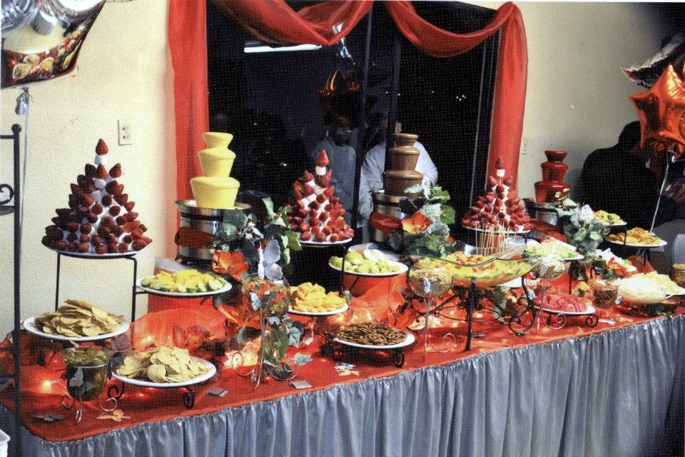 Banquete de postres