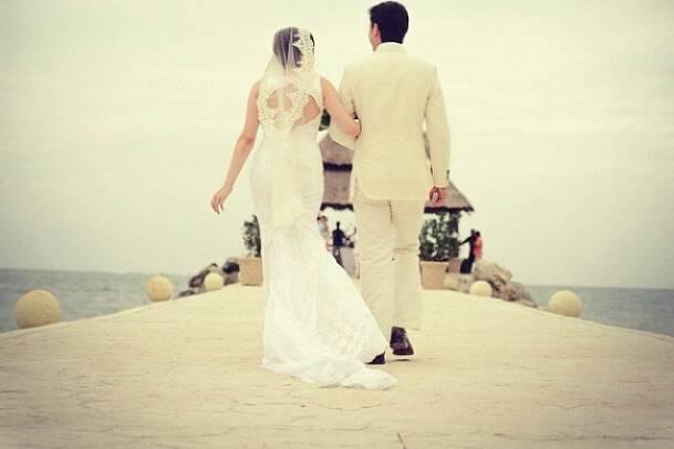 Para bodas en la playa