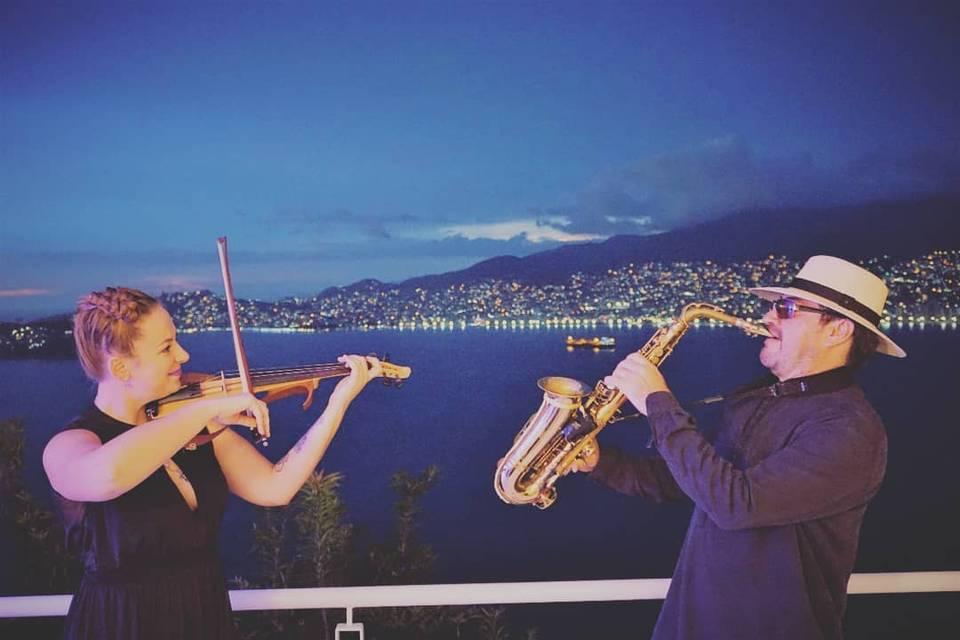 La magia del Violin & Sax
