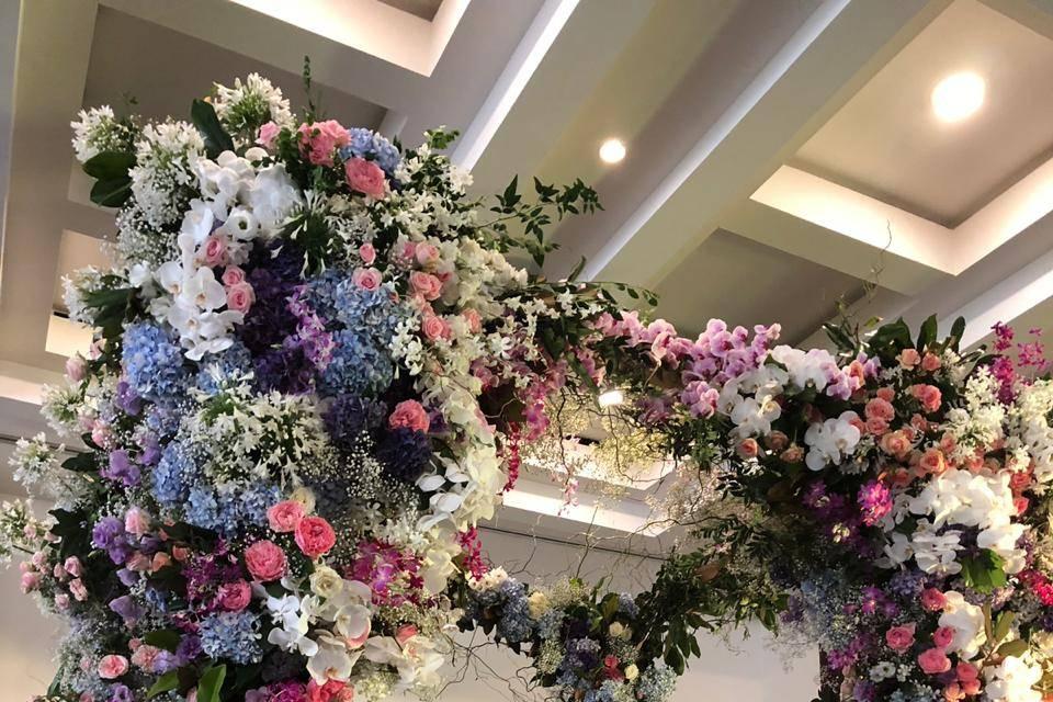 Arte floral-gacebo