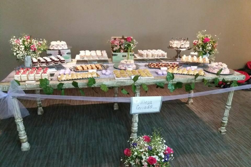 Catering dulce/mesa de postres
