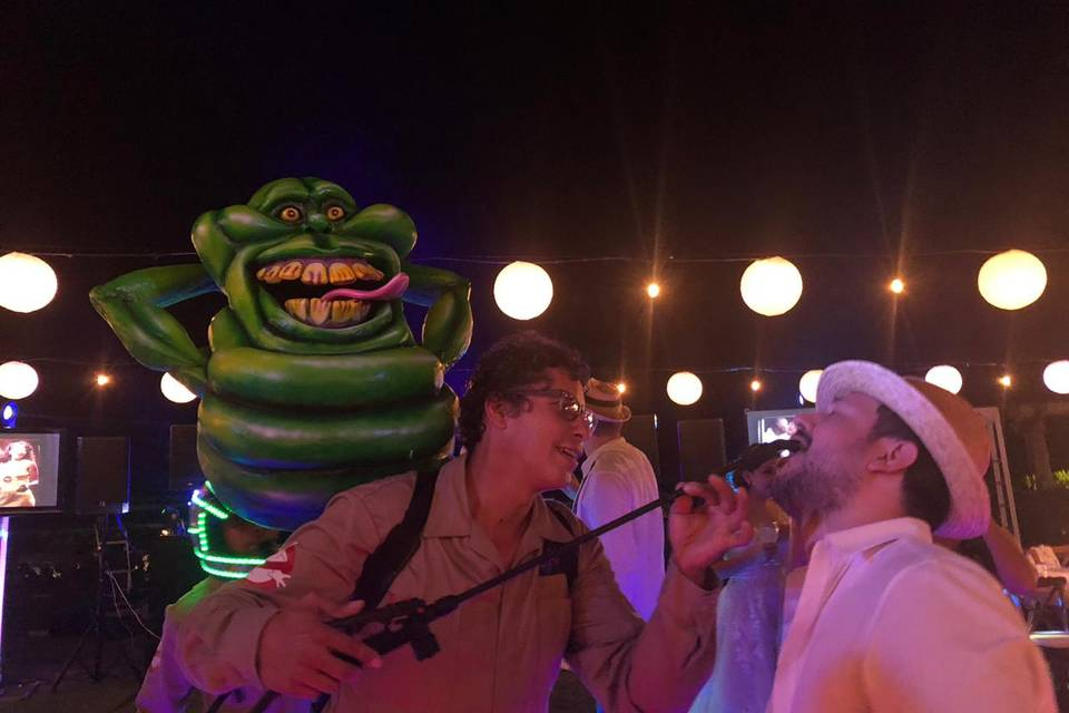 Ghostbusters shots