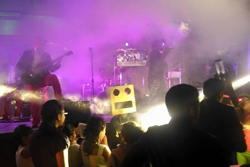 La energía de un concierto