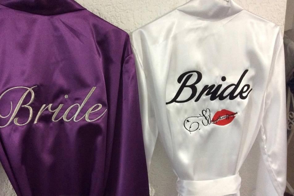 Batas de novia personalizadas