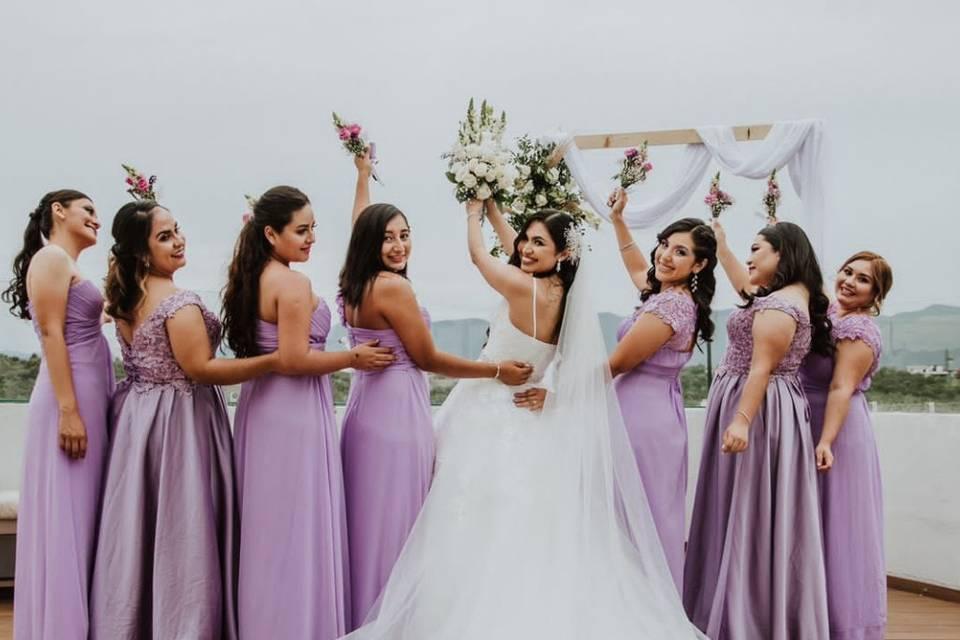 Damas de honor boda K & Mn