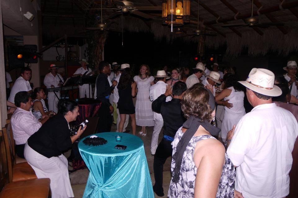 El baile y la alegría