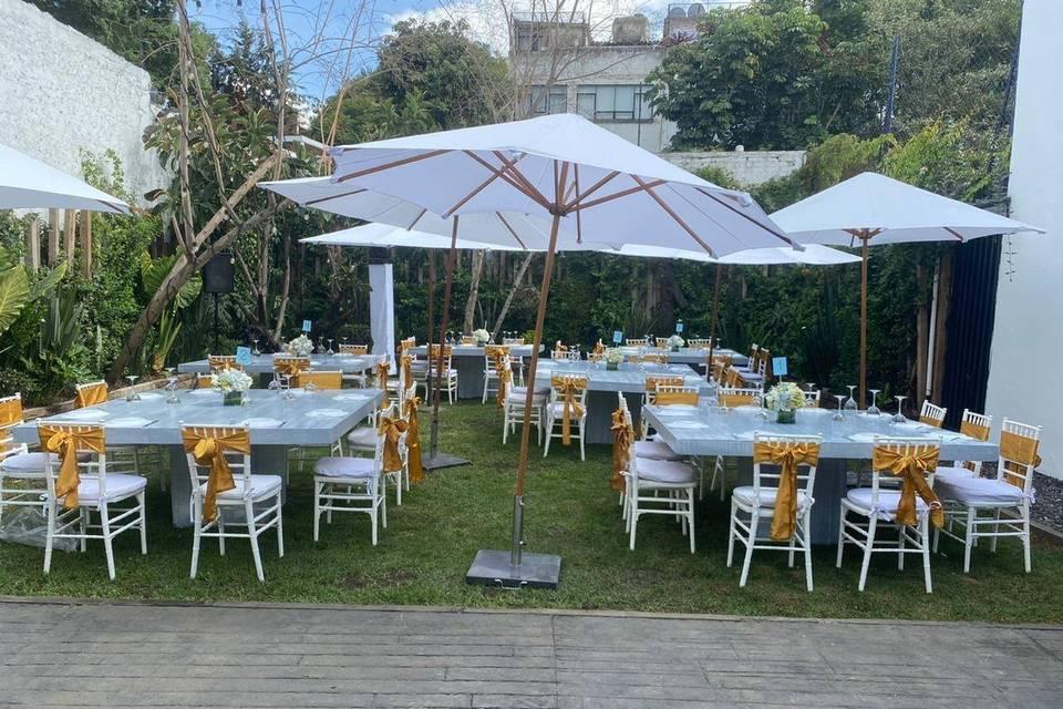 Jardín Uxmal 956