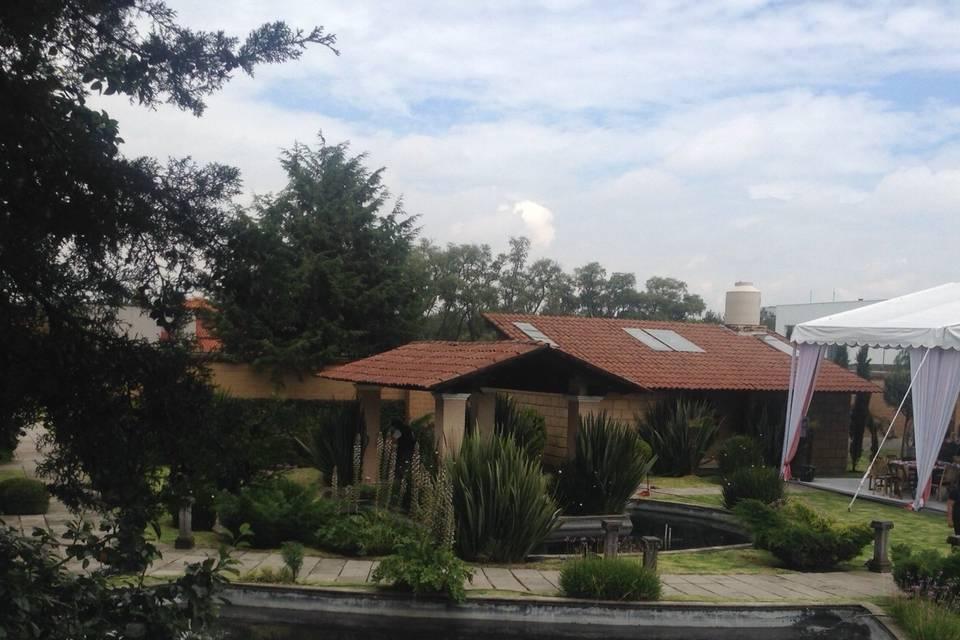 Jardín y espacio civil