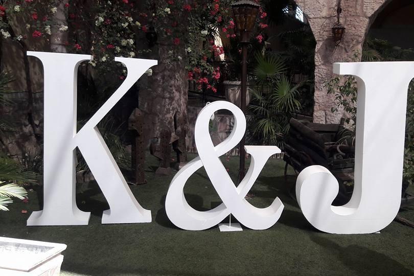 K&J Letras Gigantes de Hermosillo