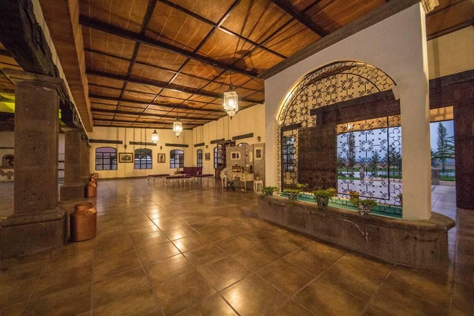 Interior del recinto