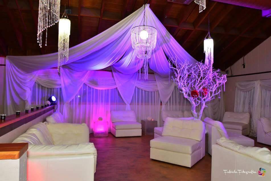Iluminación de salas lounge