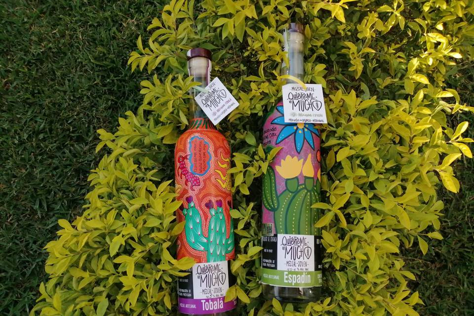 Mezcal Quiéreme Mucho - Botellas Personalizadas