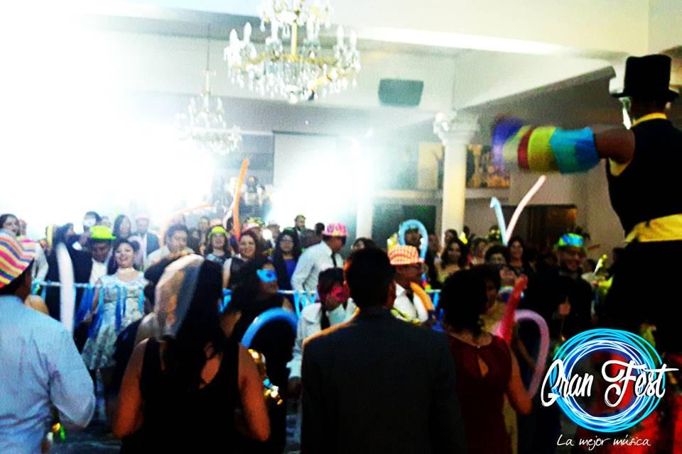 Fiesta con gran fest