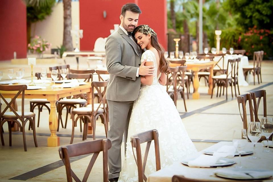 Su boda en jardín