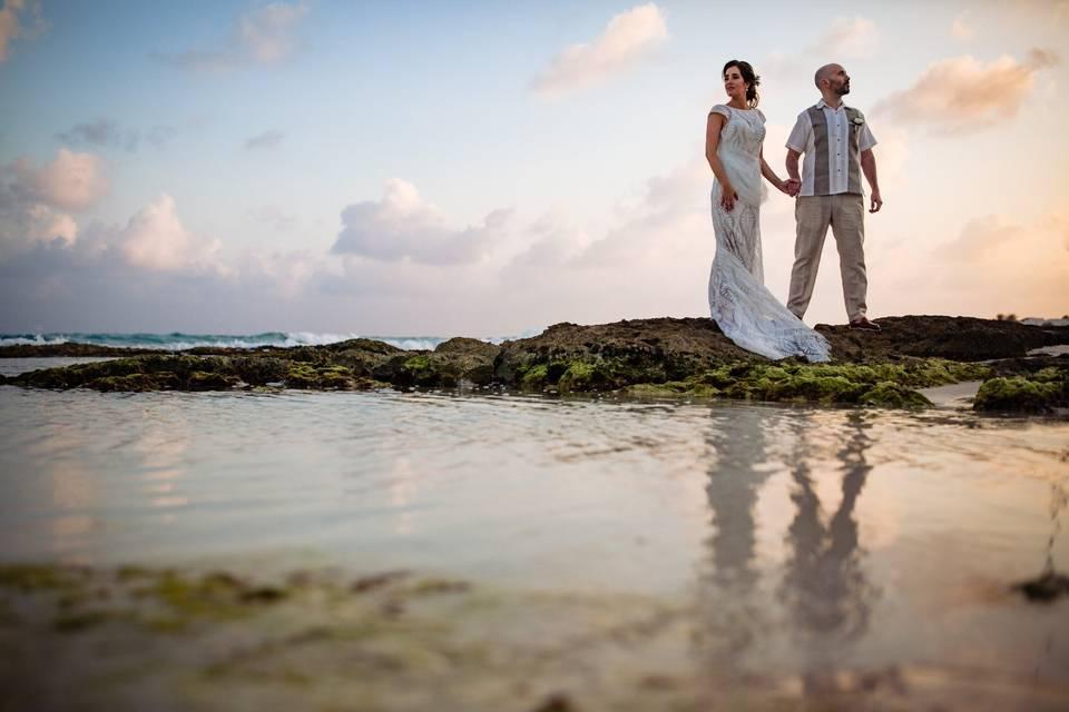 Hilde & Álex Playa Paraiso