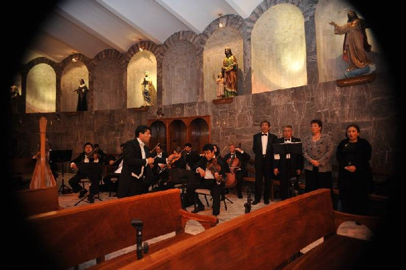 Ceremonia religiosa sinfónica