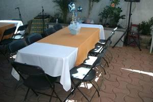 Sillas y mesas renta